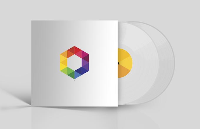 180g Clear Vinyl Version (Mockup)