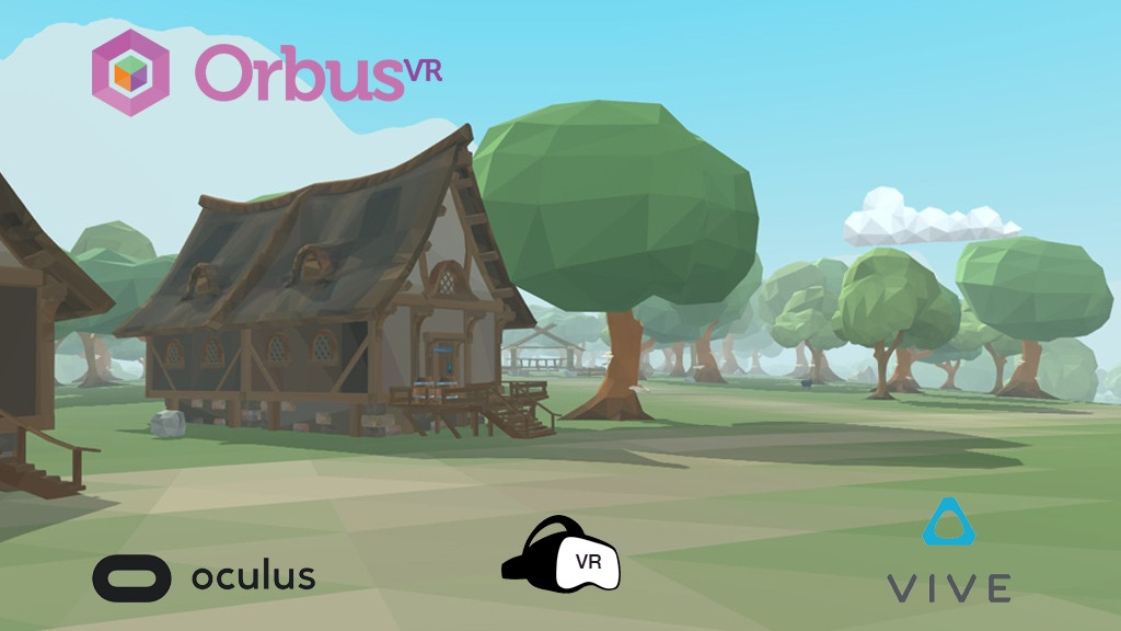OrbusVR: Virtual Reality MMORPG project video thumbnail