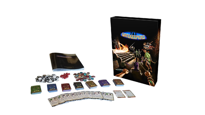 Gatekeepers game box prototype