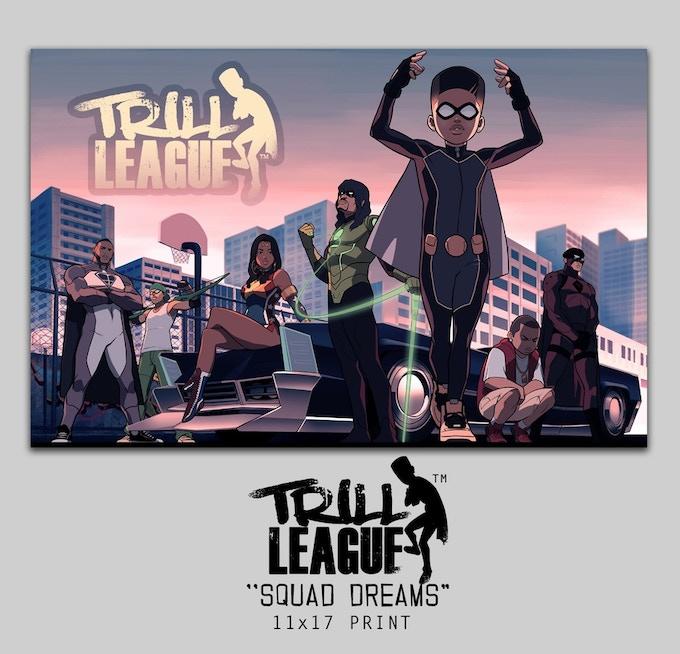 Trill League print