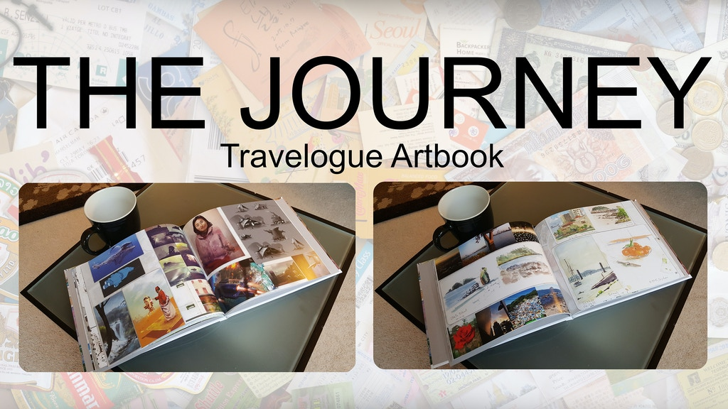 The Journey: Volume One (Art Book / Travelogue) project video thumbnail