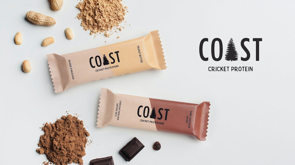 Sustainable Protein Bars & Powders made with Crickets project video thumbnail