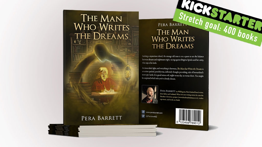 The Man Who Writes the Dreams - a story for my daughter. project video thumbnail