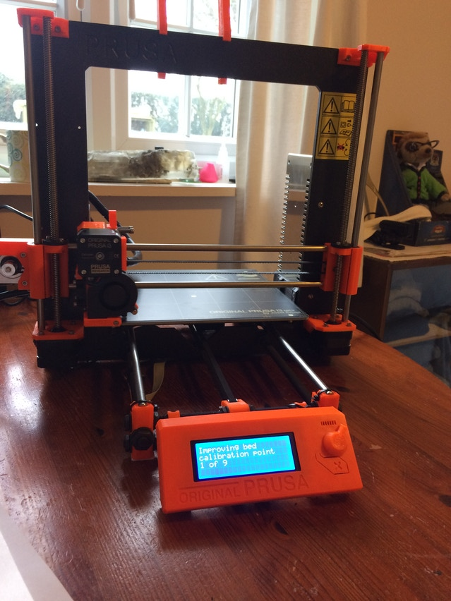 The finished printer!