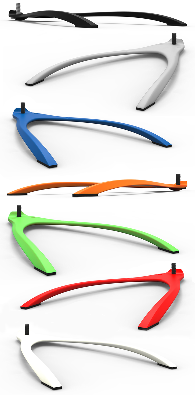 Renders showing the various colours available.