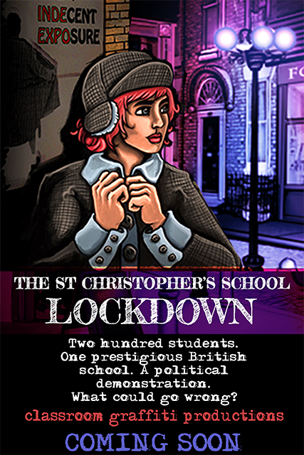 A point-and-click adventure game set within a British private school. When a political protest turns violent, whose side will you take?