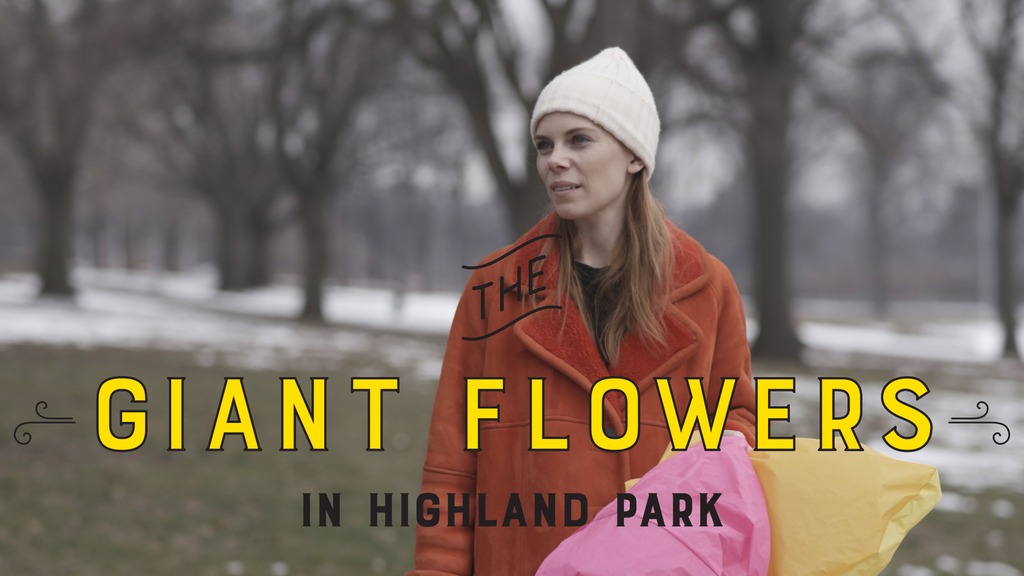 The Giant Flowers in Highland Park project video thumbnail