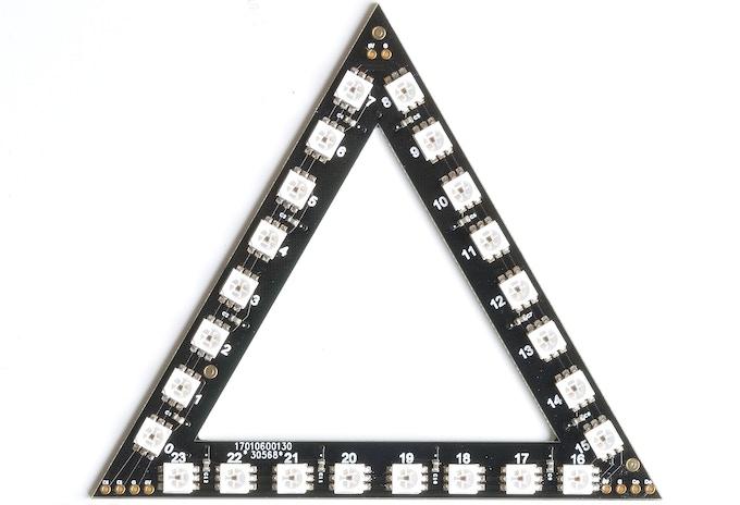 RasPiO Inspiring triangle board