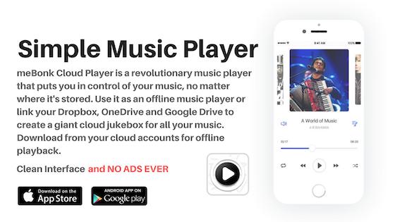 Track meBonk Simple Music Player's Kickstarter campaign on BackerTracker
