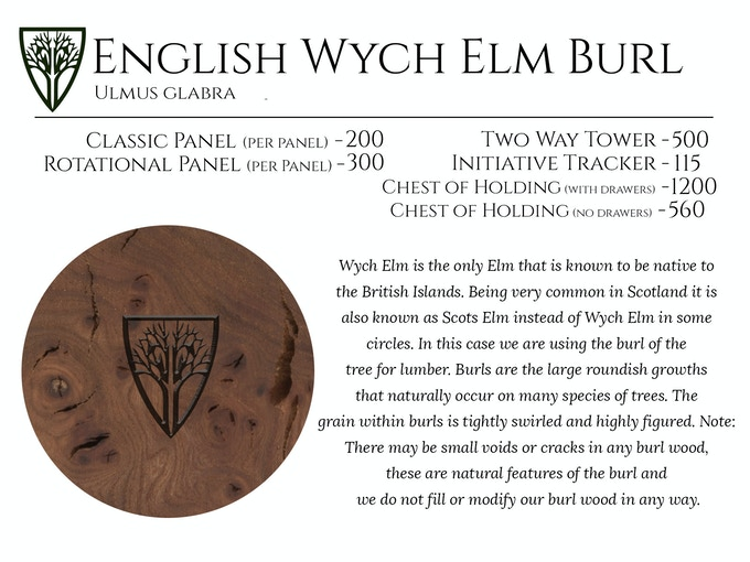 English Wych Elm Burl