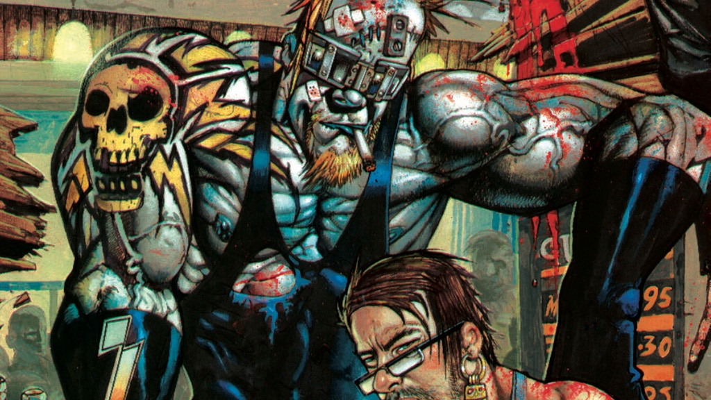 Simon Bisley 2018 Art book project video thumbnail
