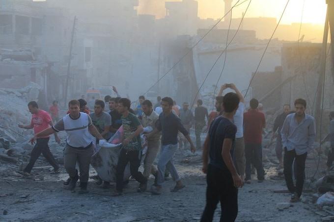 Photo by Manum Abu Omer / Anadolu Agency/ Getty Images