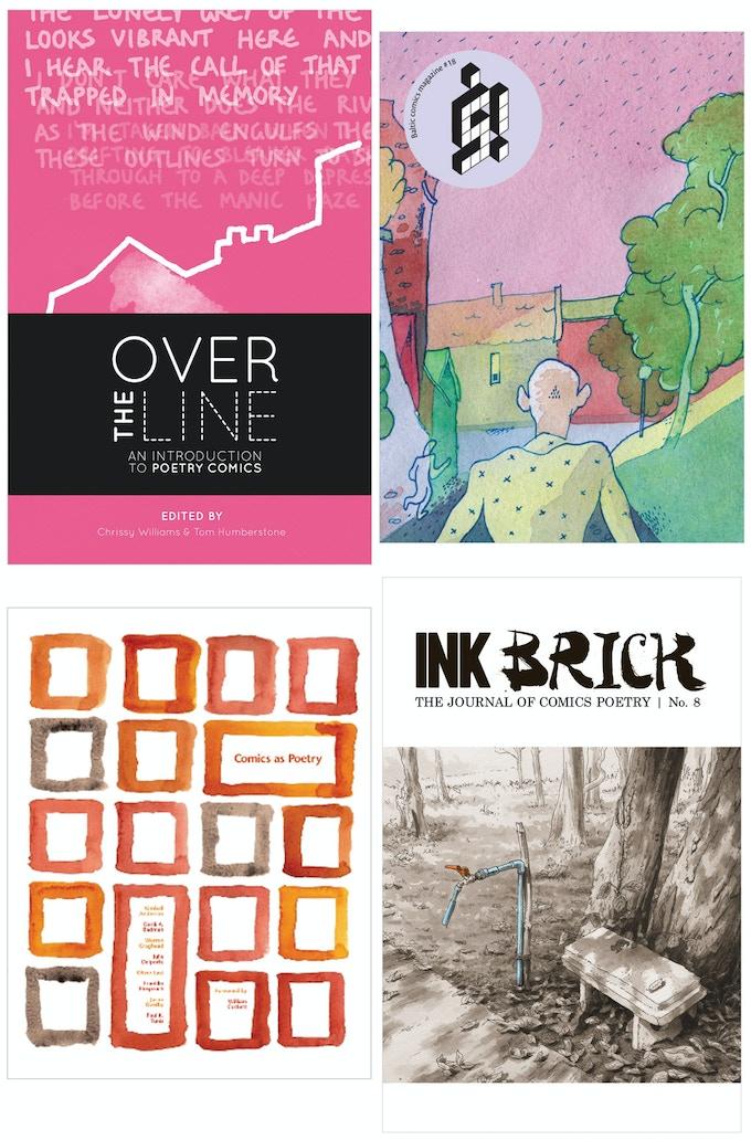 OVER THE LINE   š! #18   COMICS AS POETRY   INK BRICK no. 8