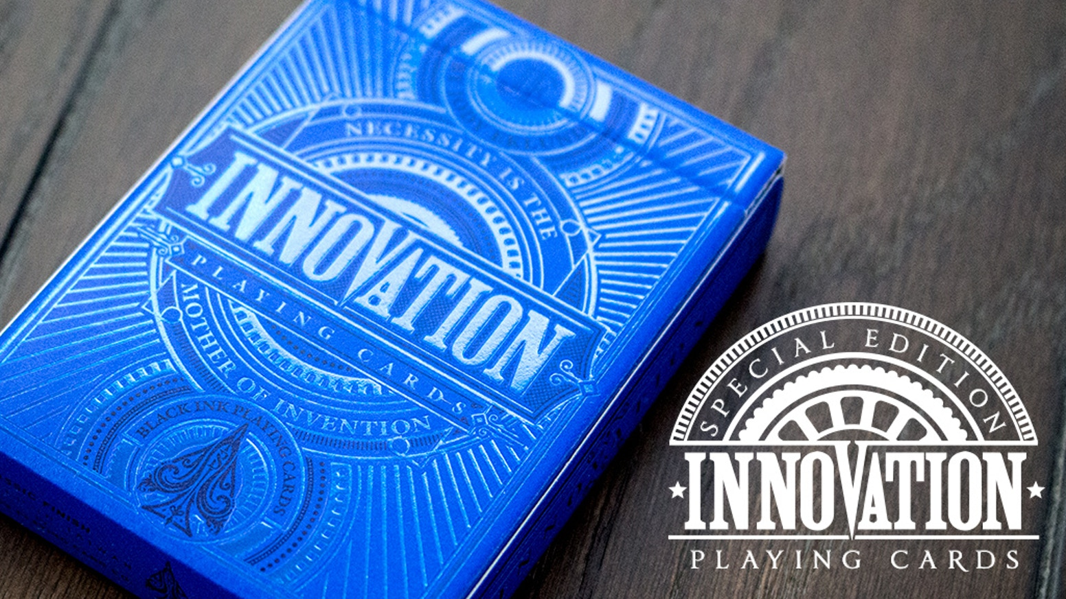 A SPECIAL EDITION of the highly sought after Innovation Playing Cards.