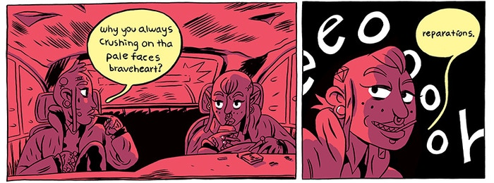 panel from RSA & BILLY by Ben Passmore