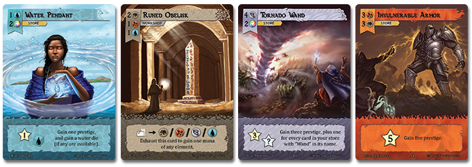 Item Card Examples