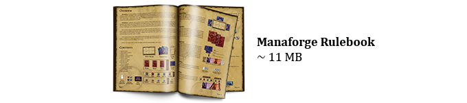 Download the Manaforge rulebook