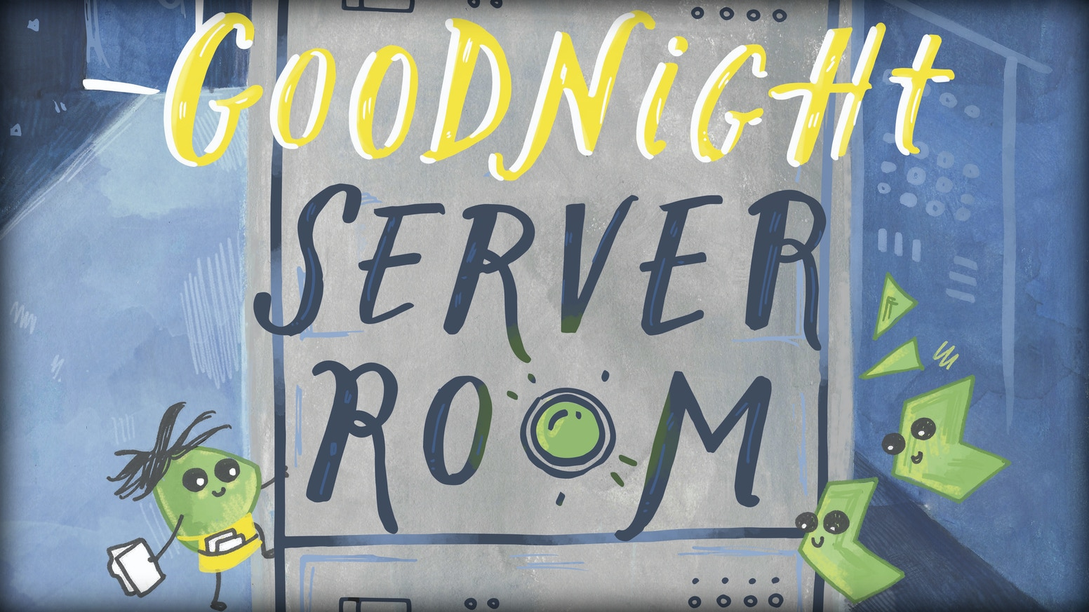 Goodnight Server Room is a children's book about computers and data written for kids ages one to five.