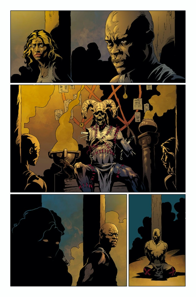 Sample from 'Dark Lair'