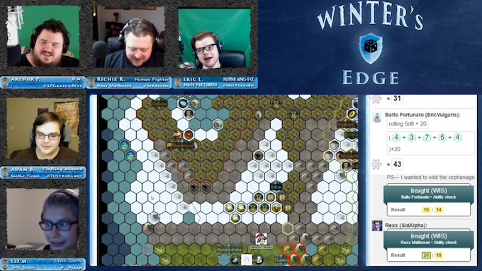 Winter's Edge 1, one of APGamingReal's previous shows
