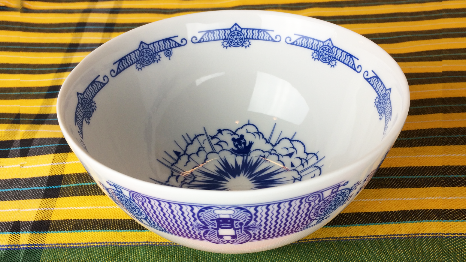 These deep bowls extend the Calamityware porcelain collection and graciously accommodate the wide range of foods that omnivores love.