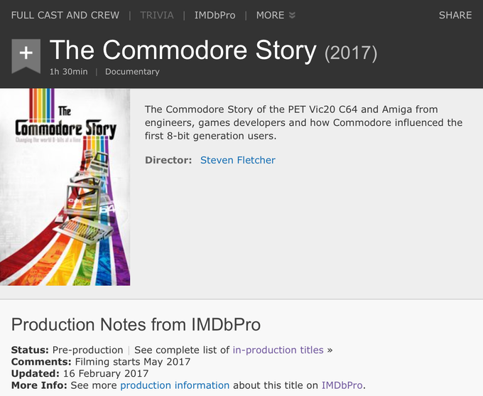 The Commodore Story - IMDB