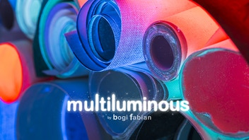 MULTILUMINOUS: 3-in-1 Glow in the dark art prints