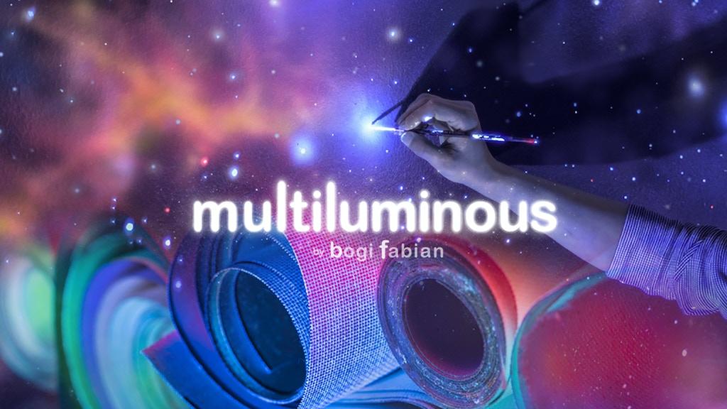 Multiluminous 3 In 1 Glow The Dark Art Prints Project Video Thumbnail
