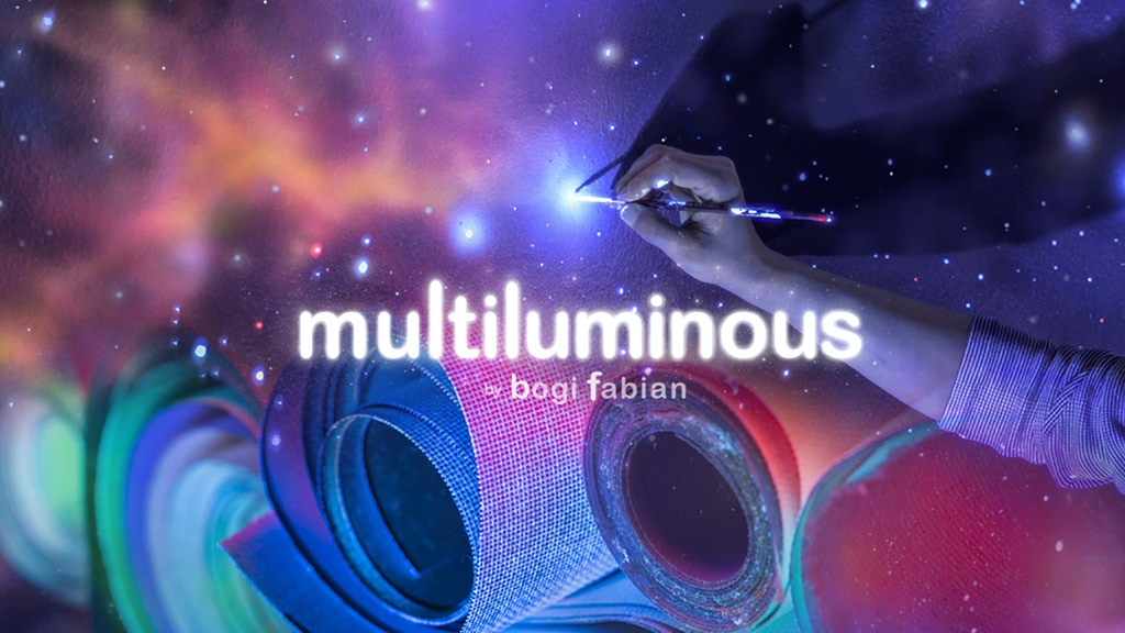 MULTILUMINOUS: 3-in-1 Glow In The Dark Art Prints project video thumbnail