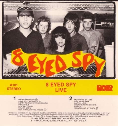 8 Eyed Spy LIVE (1981)