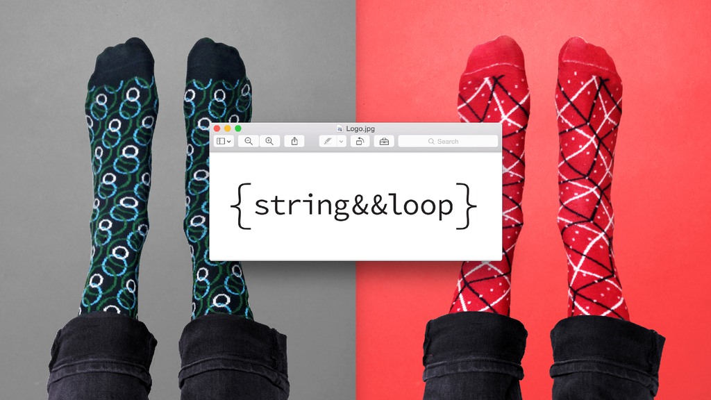 {string&&loop} Generatively Designed Knit Socks 2.0 project video thumbnail