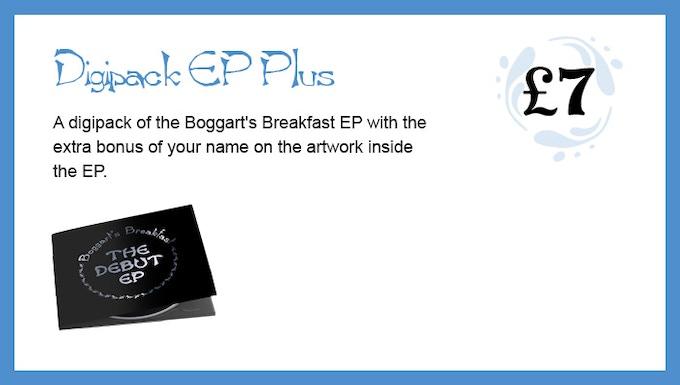 Boggart's Breakfast Debut EP by Boggart's Breakfast