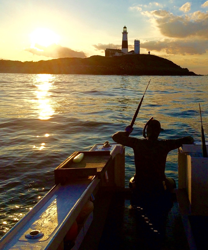 Dock to Dish programs initiated the revival of (freedive) commercial spearfishing in Montauk