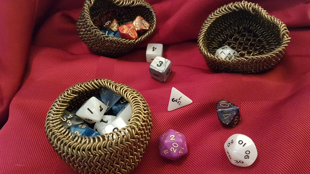 Chain Mail Dice Cups by Queen Designs project video thumbnail