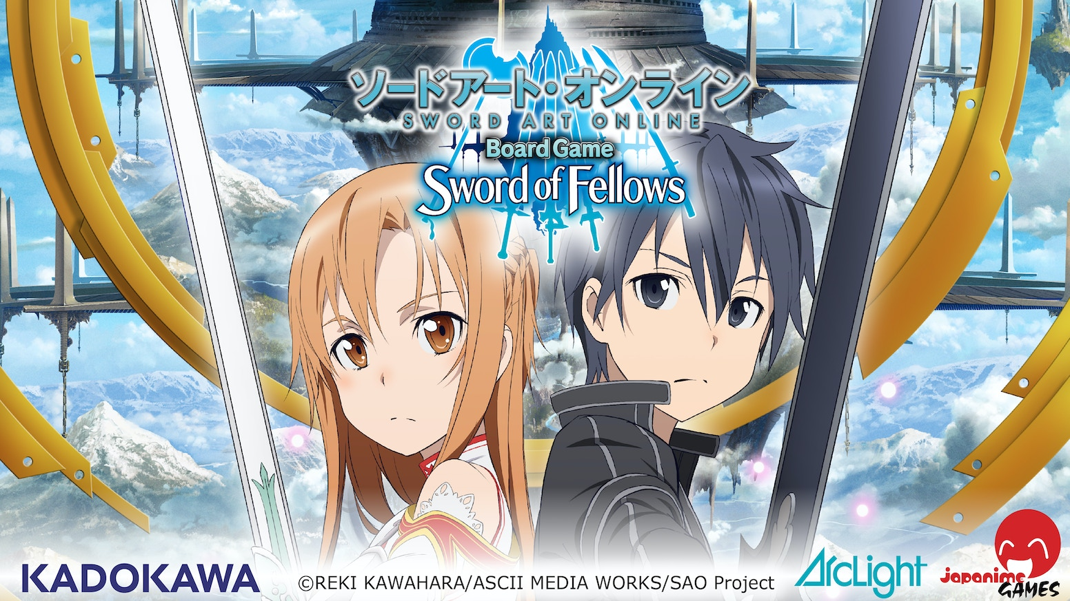 Enter the world of Sword Art Online! Defeat the enemies of <<Aincrad>> in this Cooperative Dice Based Battle Game for 1-4 players!
