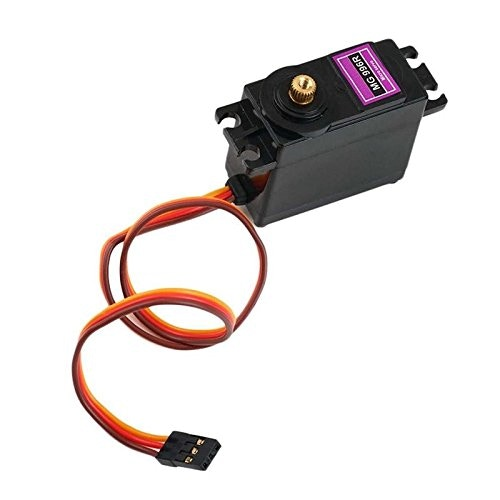 All of our Servos are Metal Geared