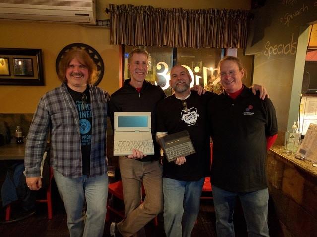 Dave Haynie, Jeff Porter, Bil Herd and Hedley Davis