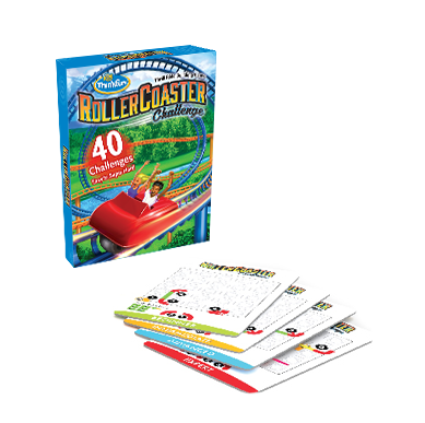 Roller Coaster Challenge Card Box
