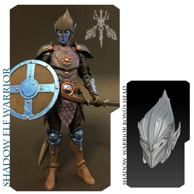 Mythic Legions 2 Action Figures by Four Horsemen Studios by FOUR