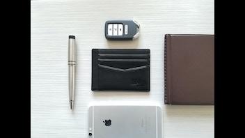 Ideka- Ultra-Slim Premium Leather Wallets
