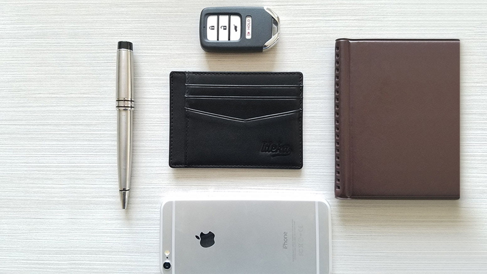 7f9651baca Ideka- Ultra-Slim RFID Blocking Wallets by Ideka Inc — Kickstarter