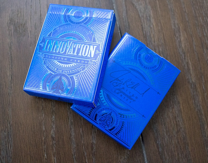 Only 500 NUMBERED Signature Blue Decks!