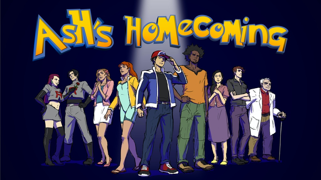 Ash's Homecoming (A Dramatic Parody Fan Film) project video thumbnail