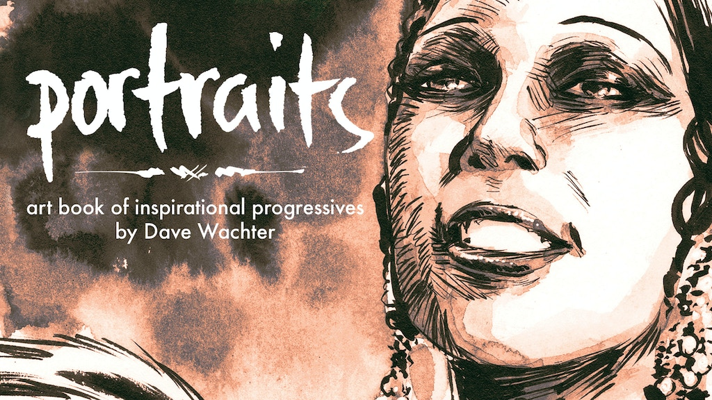 Portraits: An Artbook of Inspirational Progressives project video thumbnail