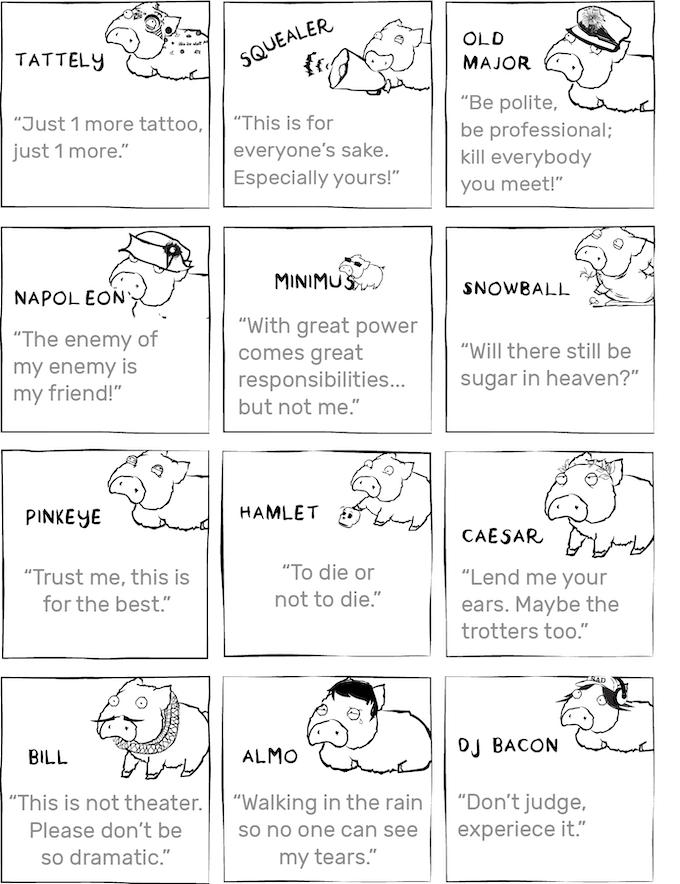 our Sad Piggies