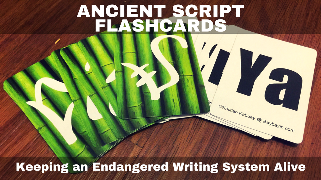 Ancient Script Flashcards: Save an endangered writing system project video thumbnail