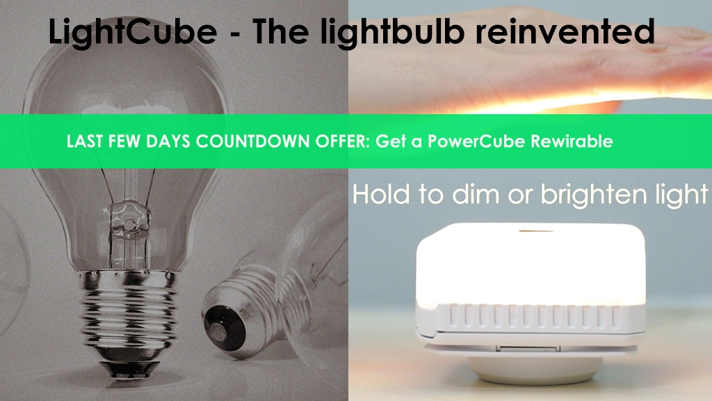 LightCube - The lightbulb reinvented project video thumbnail