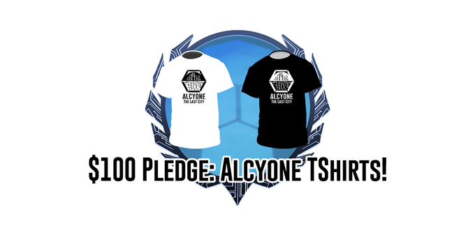$100 Pledge: Alcyone Tshirts!