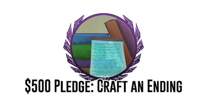 $500 Pledge: Help write an ending!