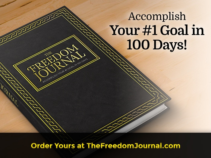 If you're ready to CRUSH your #1 goal in 100 days, The Freedom Journal's unique step-by-step process will guide you there. Knock over that one big domino and start a chain reaction of AWESOME in your life!